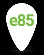 e85 Station Pin
